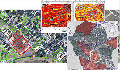 Teledetection - Satellite images at different resolutions 2
