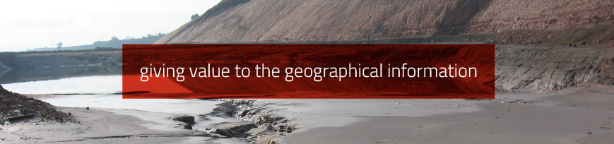 Giving value to the geographical information