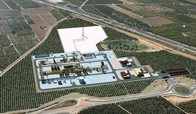 Energía y redes de suministro - Simulación 3D de proyecto de redes de suministro