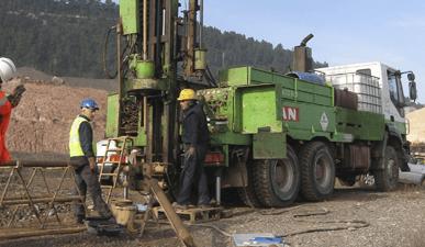 Estudios medioambientales - Investigación de suelos en balsas mineras